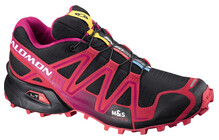 Salomon Women's Speedcross 3 black/dynamic/fancy pink